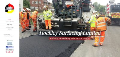 Hockley Surfacing's New Website